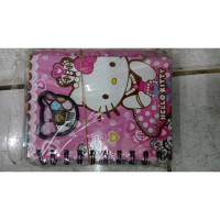 Harcover Small notebook ' HelloKitty '