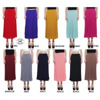 New Collection / Pleated Mode / Maxi Pleated Skirt / Women Fashion Skirt / Pleated Skirt / Good Quality!