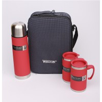 Weston Deluxe Color Thermo Set - Merah