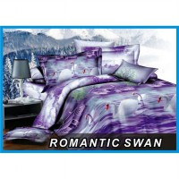 FATA - Sprei King Romantic Swan