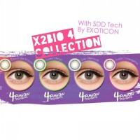 X2 Bio Four Softlens by Exoticon (4 Pilihan Warna)