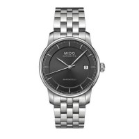 [poledit] Mido M86004131 Watch Baroncelli II Mens - Grey Dial Stainless Steel Case Automat/3036816