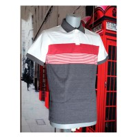 Polo Shirt Stripe Combination AMT-0002