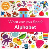 [HelloPandaBooks] What Can You Spot? ALPHABET - Look and Find Board Book