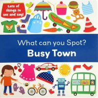 [HelloPandaBooks] What Can You Spot? BUSY TOWN - Look and Find Board Book
