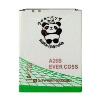 BATTERY/BATERAI DOUBLE POWER DOUBLE IC RAKKIPANDA EVERCOSS CROSS A26B 5000mAh