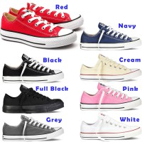 Converse Chuck Taylor All Star Ox Canvas Low Cut Sneakers Sepatu Kanvas