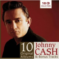 JOHNNY CASH - 10 ORIGINAL ALBUMS [10CD]