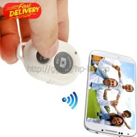 Tomsis Bluetooth 3.0 Remote AB Shutter for Smartphone - White OMSC0NWH