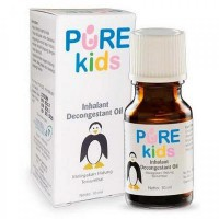 PURE KIDS Inhalant Decongestant Oil / purekids inhalant decongestant