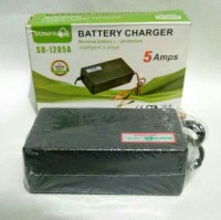 Alat Charger Aki DC / Battery Charger / CAS AKI 5 AMPS SU-1205A