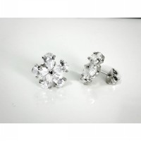 Bloom Earring/ Silver
