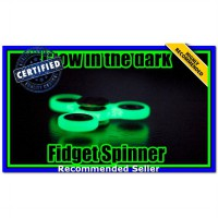 (Mainan & Hobi ) FIdget Spinner Tribar Glow In The Dark Ekonomis 01