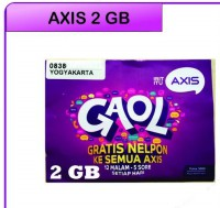 Kartu Perdana Axis 2 GB Full 24 Jam
