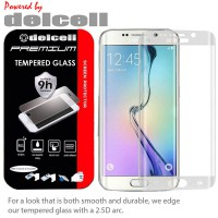 Samsung Galaxy S7 Edge Delcell Full Curved Tempered Glass Tempered Antigores Screenguard