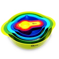 Oxone OX-041 Rainbow 8 pcs Mixing Bowl Set