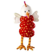 [poledit] HABA Lilliputiens, Vibrating Dancing Stroller/Crib Ophelie the Chicken Toy (R1)/12195162