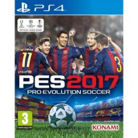 Sony Playstation 4 DVD Game PES 17