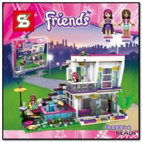 Livi's Pop Star House - SY 580 - Friends - Lego compatible #Brick