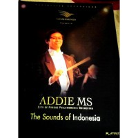 (READY) CD ADDIE MS THE SOUNDS OF INDONESIA 2DISCS