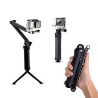 Monopod 3-Way Grip-Arm-Tripod for Action Camera SJCAM SJ4000, SJ5000, Gopro, Xiaomi Yi, Bpro, Kogan