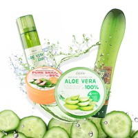 NEW ARRIVAL! [4 variant] ESFOLIO Aloe / Snail / Cucumber Soothing Gel / Mist