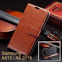 Wallet Case Samsung A510 A5 2016 Leather Flip Wallet Case Cover