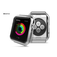 Apple Watch Series 2 38 mm - Ultra Thin Silicone Cover Protector