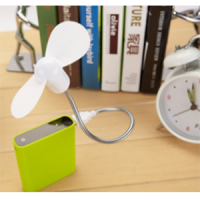 Kipas Angin Usb Power Bank Fleksibel Mini Portable Flexible Fan Yc3