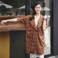 coat fashion import - A30020 Brown