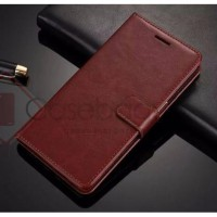 [Free SG] Retro Flip Leather Case Cover - Asus Zenfone 3 Max ZC520TL