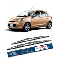 Bosch Sepasang Wiper Kaca Mobil Nissan March K13 Advantage 21' & 14' - 2 Buah/Set