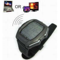 Watch Multifunction Remote Control Touch Screen for TV/DVD/VCD - Hitam/Silver