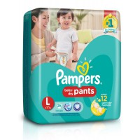 Pampers Baby Dry Pants L26