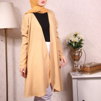 Cardi Wollypeach outer browny