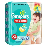 Pampers Popok Baby Dry Pants - XL 13