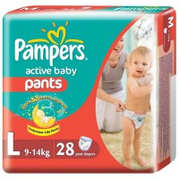 Pampers Active Baby Pants L-28