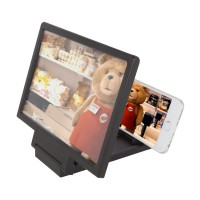 3D Standing Screen Magnifier Mobile Phone | Kaca Pembesar Layar Smartphone 3x | Enlarger Portable