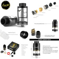 CoilArt Azeroth 24mm RDTA Atomizer Vape (Authentic)