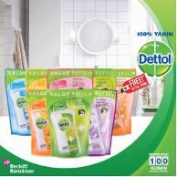 Dettol bodywash refill 450ml all varian