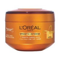 Loreal Smooth Intense One-Minute Caring Mask 200ml