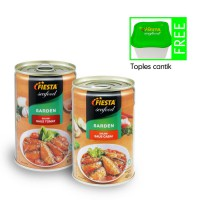 FIESTA SARDEN 450grm paket isi 2 (free Toples Cantk)