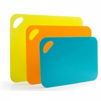 Talenan Flexible Anti Slip / Flexible Chopping Board Anti Slip - 1 Set isi 3pcs dengan 3 ukuran