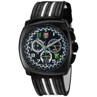 [macyskorea] Luminox Mens 1142 Tony Kanaan Limited Edition Analog Swiss Quartz Black Leath/15865450