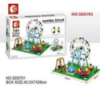 Sembo Block SD6701 Kincir 447pcs