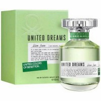 (READY) Parfum Original BENETTON UNITED Dreams Live Free for Her