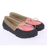 Catenzo Junior Flat Shoes Anak CZEx094 Gothan Pink Comb