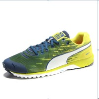 Puma Fass 300 V4 Yellow Blue White Mens Running Shoes 18752805