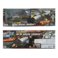 Motor Max Battle Zone Electronic AH-64 Apache Longbow 78203