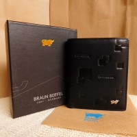 Braun Buffel Dompet Kulit Import BB 01-05 Black